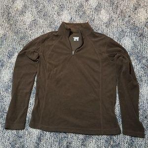 Columbia Women's Fleece Jacket Medium Brown